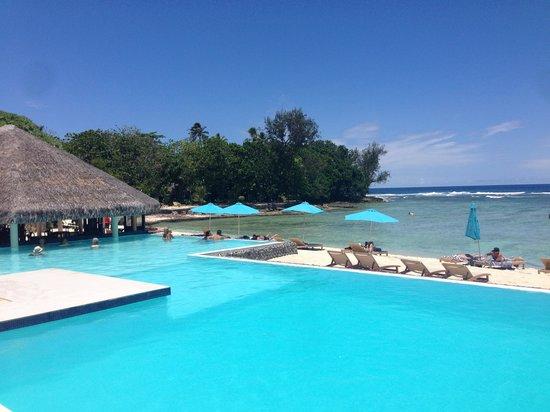 Breakas Beach Resort Vanuatu: Our view most days
