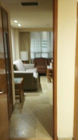 Eurostars Zona Rosa Suites: vista a sala de estar de habitacion