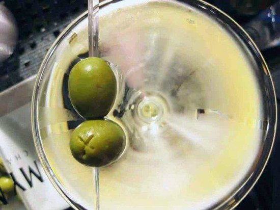 Olive's Restaurant & Bar: Martini