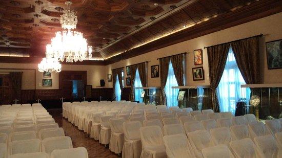 Palacio de Gobierno: Uma das salas preparadas para um evento político
