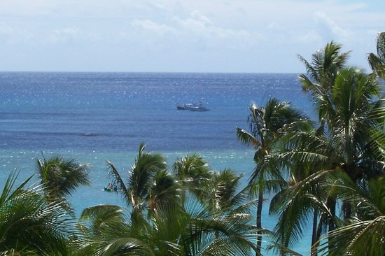 Hale Koa Hotel: View from our room