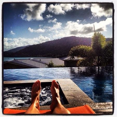 Peppers Airlie Beach : pool with a view!
