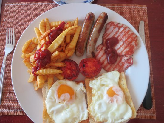 Farang Connection : Big breakfast (no beans for me)