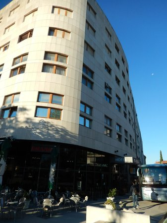 Hotel Globo: Hotel entrance