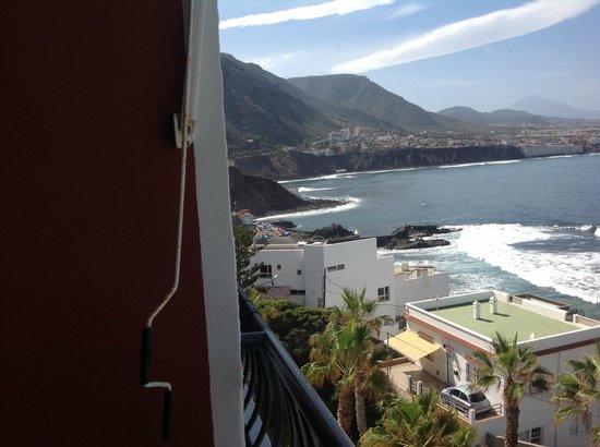 OCÉANO Hotel Health Spa: Blick  vom Balkon 7 Stock