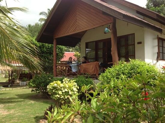 Sea Scene Resort: our room-house no1