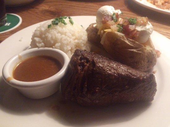 Outback Steakhouse Ebina: ステーキ