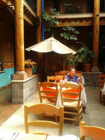 Hotel Casa del Refugio: vista del restaurante