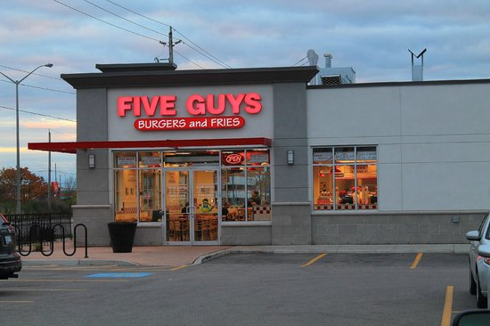 Five guys in wellington rd london ontario picture of for 8 cuisine london ontario