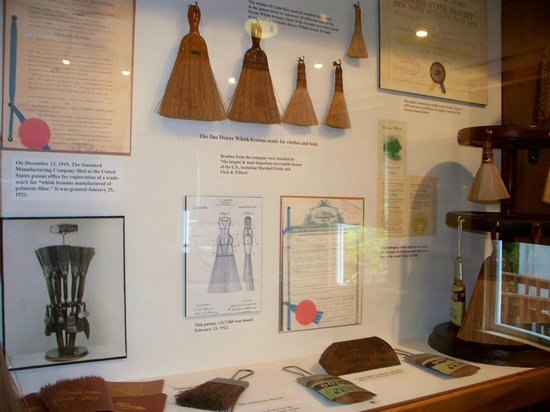 Cedar Key Historical Society Museum : HIstory of the Whisk Broom