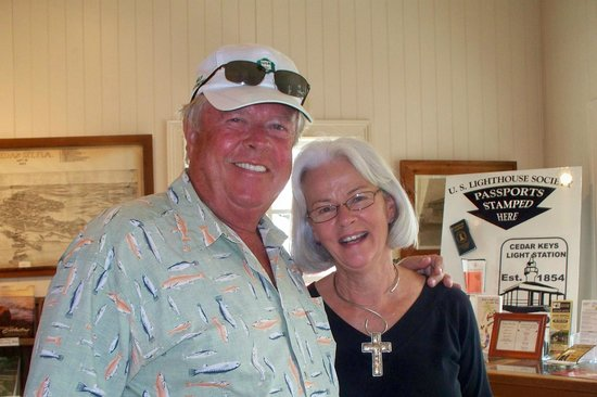 Cedar Key Historical Society Museum : Mini, the knowledgable Docent
