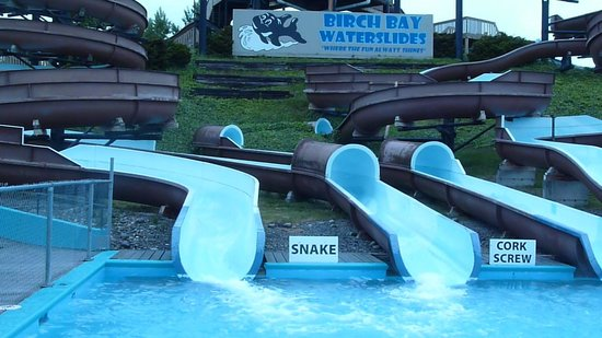 Birch Bay Waterslides: 4 of the slides