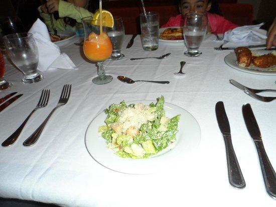 Laguna Mar: Restaurant italiano caruso