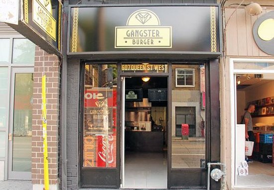 Photo of American Restaurant Gangster Burger at 607 Queen St W, Toronto M5V 2B7, Canada