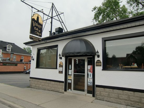 Village fish and chips waterdown restaurant reviews for Hamilton fish library