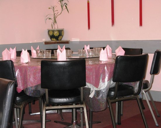 Bundanoon Chinese Restaurant: One of the tables