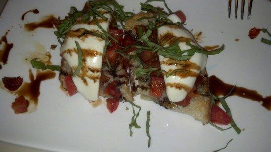 Zel's Del Mar Cafe: Bruschetta