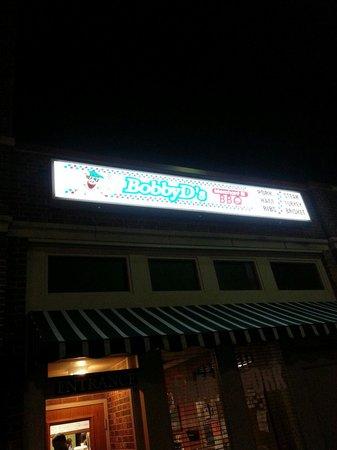 Bobby D's: Enter here for good eats.