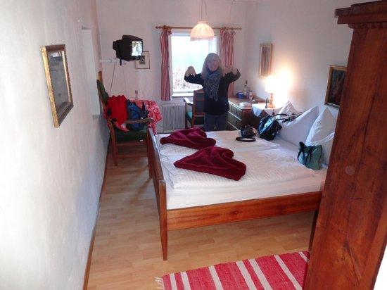 Braugasthof Lobisser Gasthof: Our room - the bridal suite