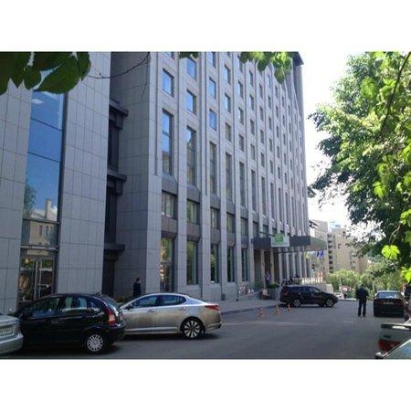 Holiday Inn Kiev: واجعة الفندق من الخارج