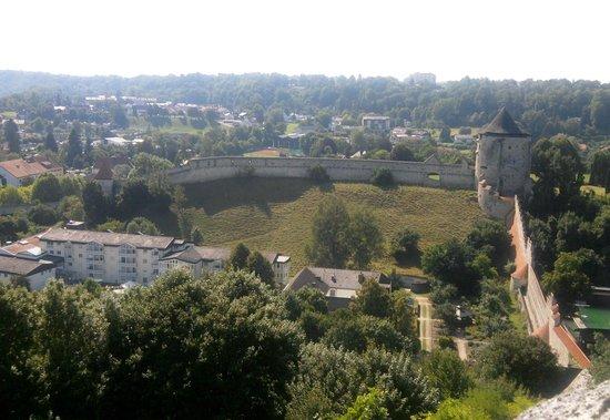 Burg zu Burghausen: view