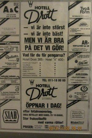 "Hotel Drott: Loved the feeling of ""way back then"""