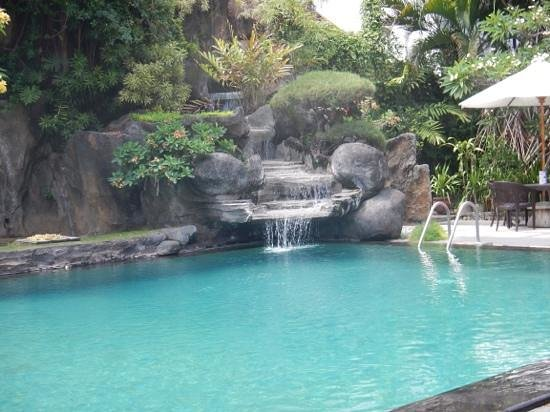 Adi Dharma Cottages: poolside Adi Dharma