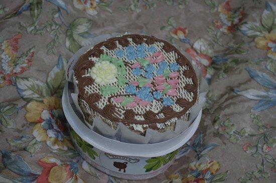 Hotel Verhovina: Знаменитый торт