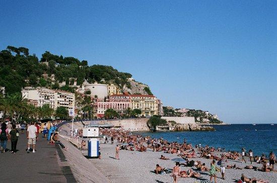 Fairmont Monte Carlo: Пляж