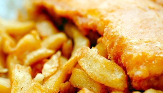 Frydays fish 'n chips