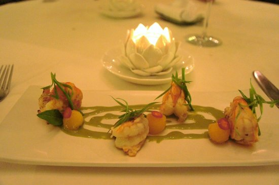 Angkor Village Resort : First of 4 course French a la carte in Le Jardin Restaurant