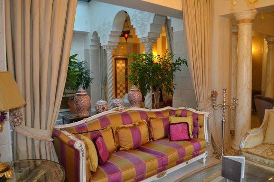 Hotel Villa & Palazzo Aminta : холл отеля