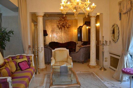 Hotel Villa & Palazzo Aminta : внутренний интерьер отеля