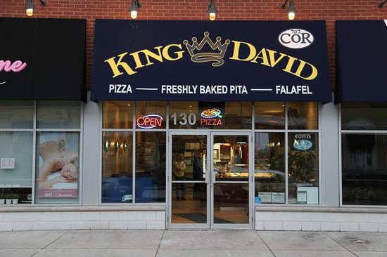 Photo of Pizza Place King David Pizza at 11 Disera Dr, Thornhill L4J 0A7, Canada