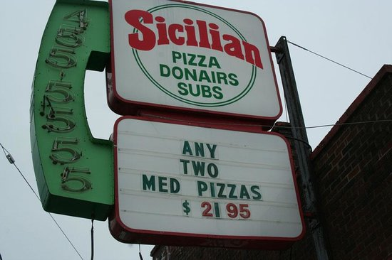 Sicilian Pizza Donairs Subs
