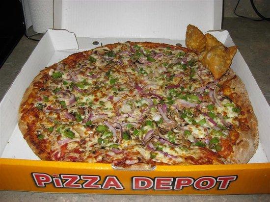pizza depot brampton 945 peter robertson blvd. Black Bedroom Furniture Sets. Home Design Ideas