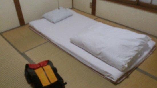 Ryokan Shizumasa : Futon bed on Tatami