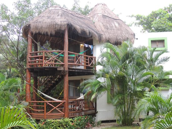 Mahekal Beach Resort : double room bungalows garden view