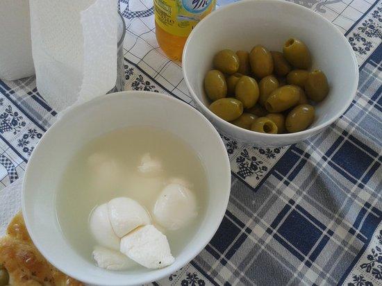 Residence Alba Chiara: cibo tipico