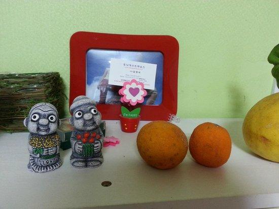 Doona Guesthouse : Petites choses typiques de Jeju...