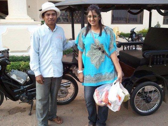 Mekong Hotel: Hotel Tuk Tuk Driver - Fluent English