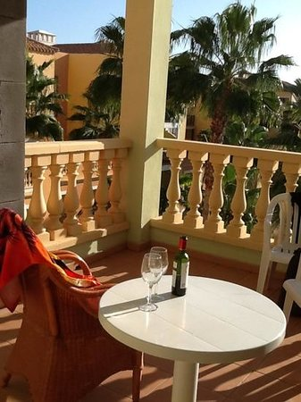 Bahia Principe Tenerife: november 5.30 on balcony