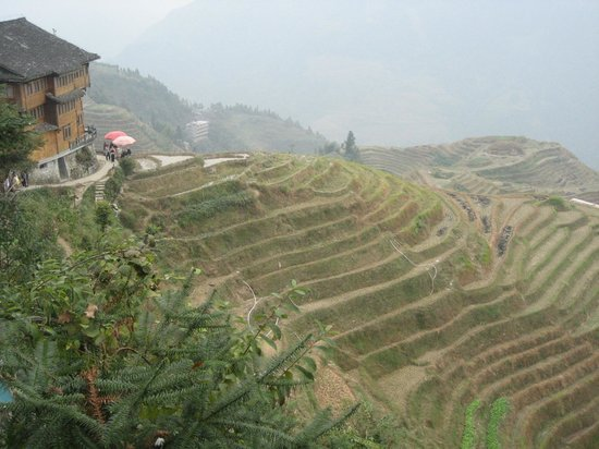 Ping'an Village : the view we got