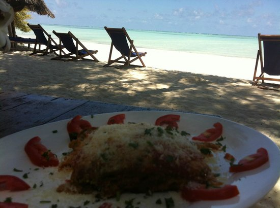 Ndame Beach Lodge Zanzibar: Restaurant Beach