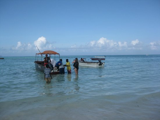 Ndame Beach Lodge Zanzibar: Beach - snoklingtrip