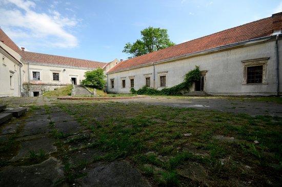 Svirzh Castle: Внутренний двор
