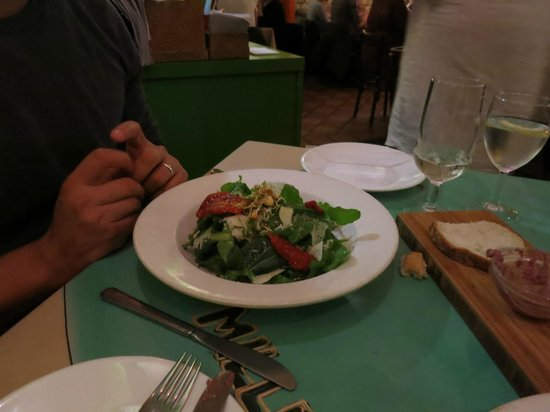 Miller's Thumb: great salad