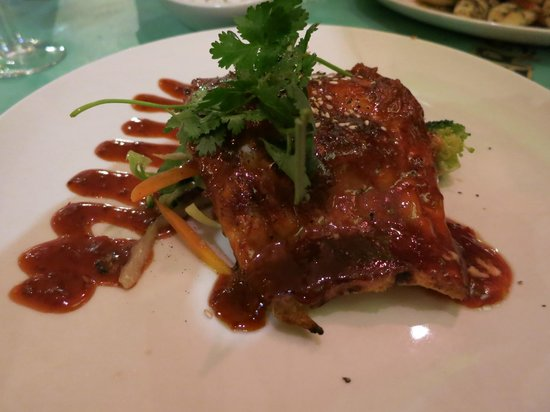 Miller's Thumb: great white fish in asian sauce