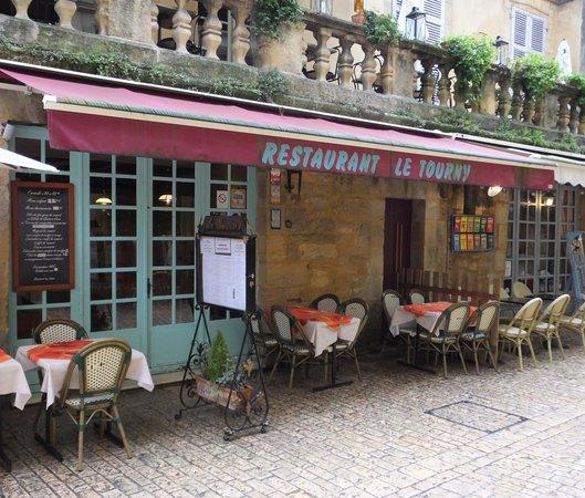 Restaurant Le Tourny : la facade