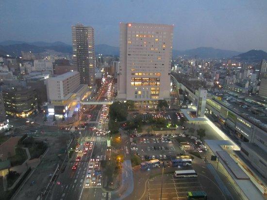 Hotel Granvia Hiroshima: Vue